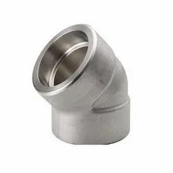 Mild Steel 45 Deg Socket Weld Elbow