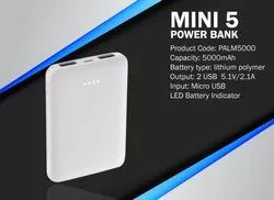 Mini 5 Powerbank - 5000 mah