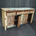 Indian Reclaimed Timber Boat Wood Sideboard