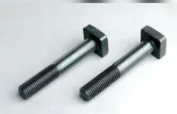 Silver Stainless Steel Square Head Bolts