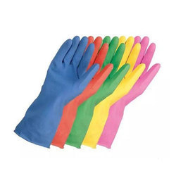 Rubber Household Hand Gloves