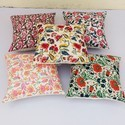 Block Printed Cushion Cotton Pillow Cover
