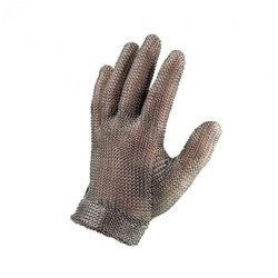 Metal Mesh Gloves / Stainless Steel Gloves, Size: Medium