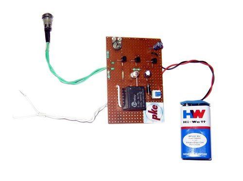 Light & Laser Switch Circuit Project In Dot Pcb, Science Circuit ...