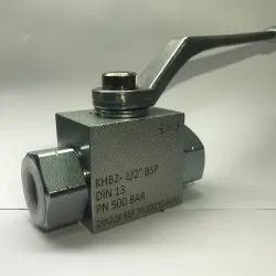 KHB 2 WAY BALL VALVE