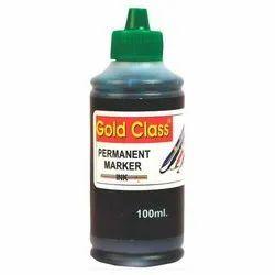 Gold Class 100 ml Green Permanent Marker Ink