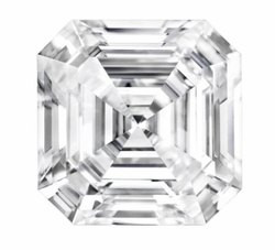 Best Quality Asscher Cut Moissanite Diamonds For Jewellery