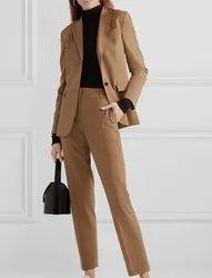 Woolen Plain Ladies Business Formal Wear, Medium, Waist Size: 30.0