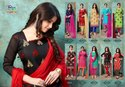 Rahul Nx Rasili Vol-11 Embroidery Work Chanderi  Cotton Dress Material Catalog