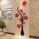 Vase Wall Murals CNC Router Cutting Service
