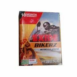 Bikerz 12Bl2.5L-C Bike Battery