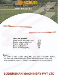 Carbon Steel 1000mm Garden Sword