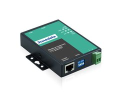 2 RS-232 or RS-485/422 Modbus Gateway-GW1102