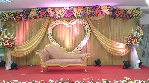 Wedding Stage Decoration Wedding Stage Decorator K V S Foundations Private Limited Chennai