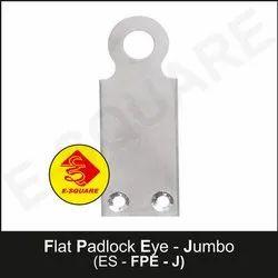 Lockout Safety Flat Padlock Eye - Jumbo