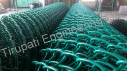 TEC PVC Coated Chain Link Wire Netting
