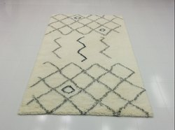Hand Knotted Moroccan Carpets, Size: 70X120cm