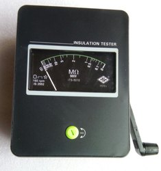 Hand Driven Insulation Tester (1000V)