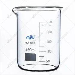 MSWLABS Borosilicate Glass Graduated Beaker