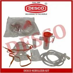 DESCO Nebulizer Kit, for Hospital / Home, Packaging Type: Poly Pack
