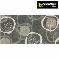 Orientbell LAPATO CARDIFF HL Glazed Vitrified Wall Tiles, Size: 300X600 mm