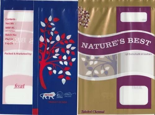Polyester Laminated Packaging Pouch