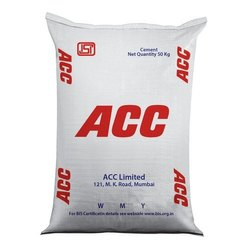 ACC 43 Grade Cement, Packaging Size: 50 Kg