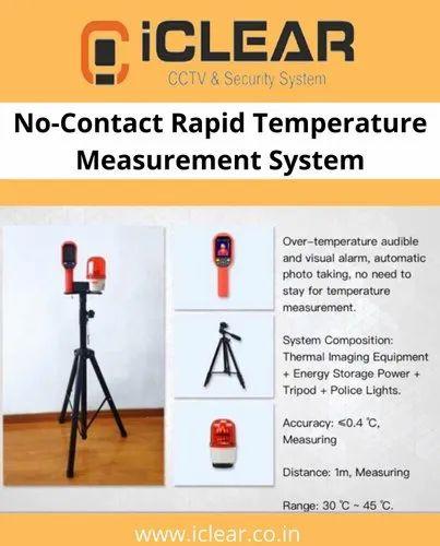 No-Contact Rapid Temperature Measurement System