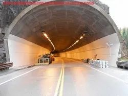 Commercial Tunnel Shotcreting, Anchoring And Grouting