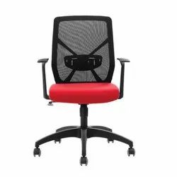Leather Mesh Office Chair