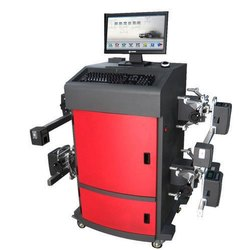 Single Phase Automatic Computerised Wheel Alignment, 220v, Model Name/Number: Comby