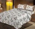 Cotton Floral Bedsheets for Double Bed