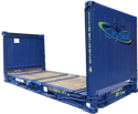 Crystal 20 Feet Flat Rack Container