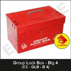 Red Group Lock Box