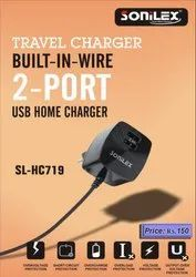 Sonilex SL 2 Port Mobile Charger HC719