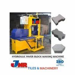 JMR Tiles & Machinery Mild Steel Interlocking Brick Making Machine