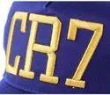 CR7 Blue Cotton Baseball Cap