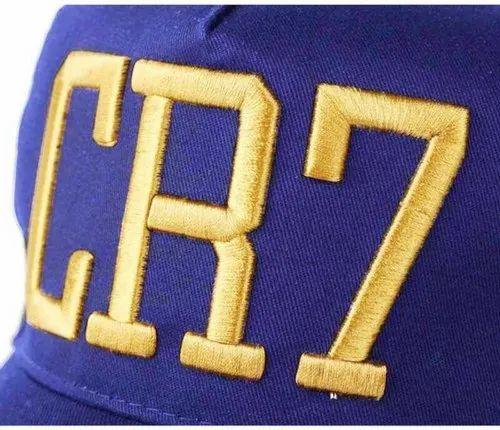 b3c478196 CR7 Blue Cotton Baseball Cap