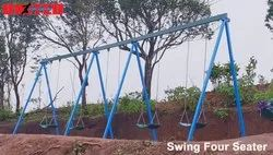 Combo Swing - STD Swing 4 Seater Playground Equipment