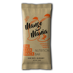 Muscle Building The Lean Snack Ginger Mango Granola Nutrition Bar