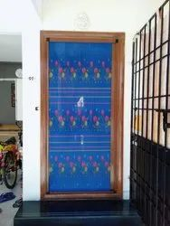 Door Sliding Printed Mosquito Net
