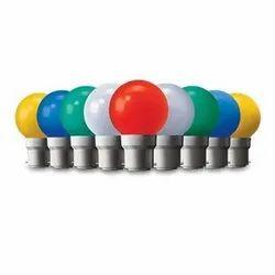 Plastic Wipro Garnet Coloured LED Lamp, Packaging Type: Box