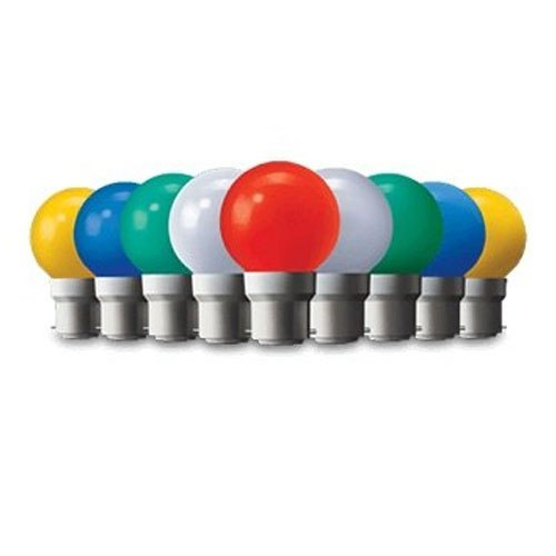 Plastic Wipro Garnet Coloured LED Lamp, Packaging Type: Box