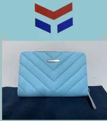 Pattern Ladies Leather Wallet