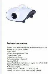 Portable Fumigator Aerosol Disinfector