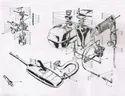 Lambretta Fuel & Exhaust System Parts For GP LI TV SX Vijay Super Scooter