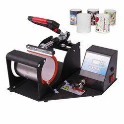 Digital Black Top Sublimation Mug Printer, Automation Grade: Semi-Automatic