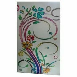 Multicolor Designer Colored Glass for Decoration, Thickness: 1-10mm