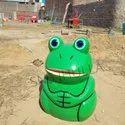 SNS706N Frog Animal Shape Dustbin