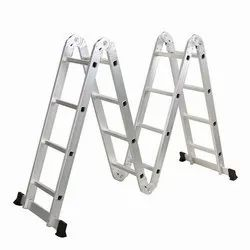 MULTIPURPOSE ALU. FOLDING LADDER